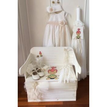 Κορίτσι Κουτί Βάπτισης